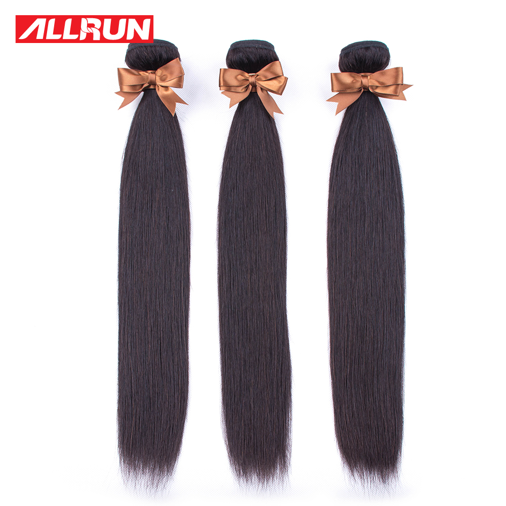 H22ebff835a274263842b88107dc37dadu Allrun Malaysian Straight Hair Bundles With Frontal Closure 13*4 Human Hair Bundles With Closure Non-Remy Hair Low Ratio