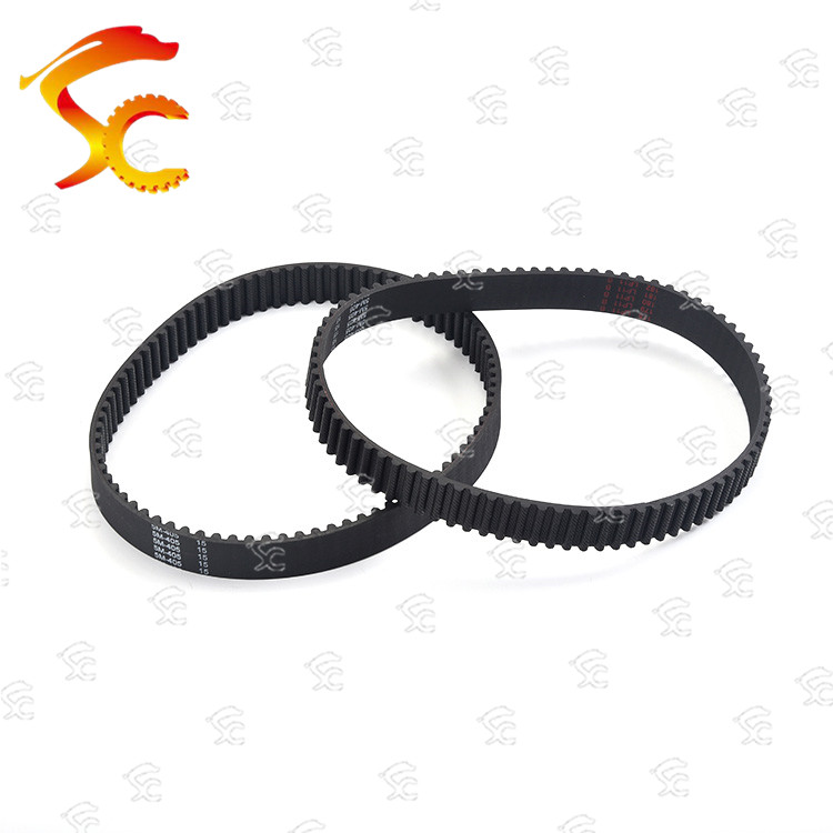 1pcs/Lot <font><b>HTD5M</b></font> timing belt 405-5M-15 Teeth 81 Length 405mm width 15mm Rubber closed-loop image