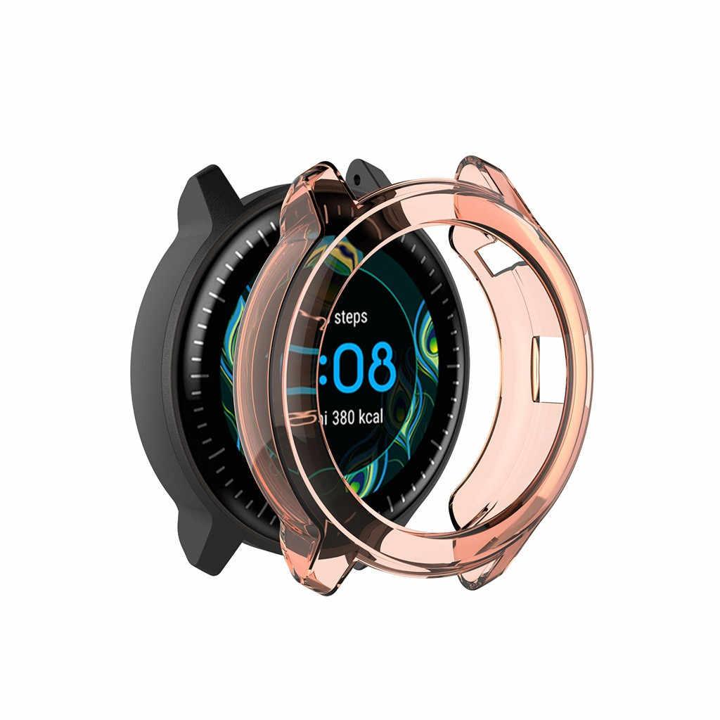 Smartwatch ساعة ذكية لينة جدا ضئيلة TPU حماية القضية متوافق للغارمين vivoactive3 الموسيقى غطاء الساعات الحالات يغطي