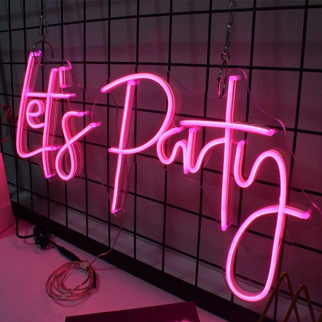 Custom-Led-Neon-Light-Signs Decoration For Room  Decor  Birthday Party Wedding Decoration