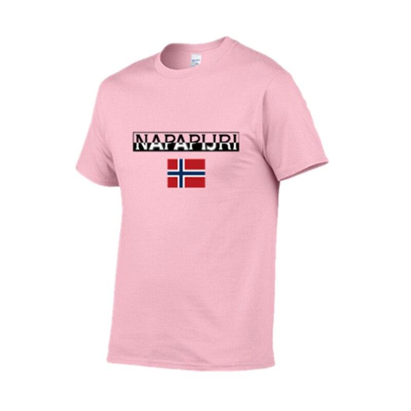 Summer 100% Cotton Hip-hop Men's T-shirt Short Sleeve T-shirt Fashion Brand NAPAPIJRI Graphics High-quality T-shirt Men