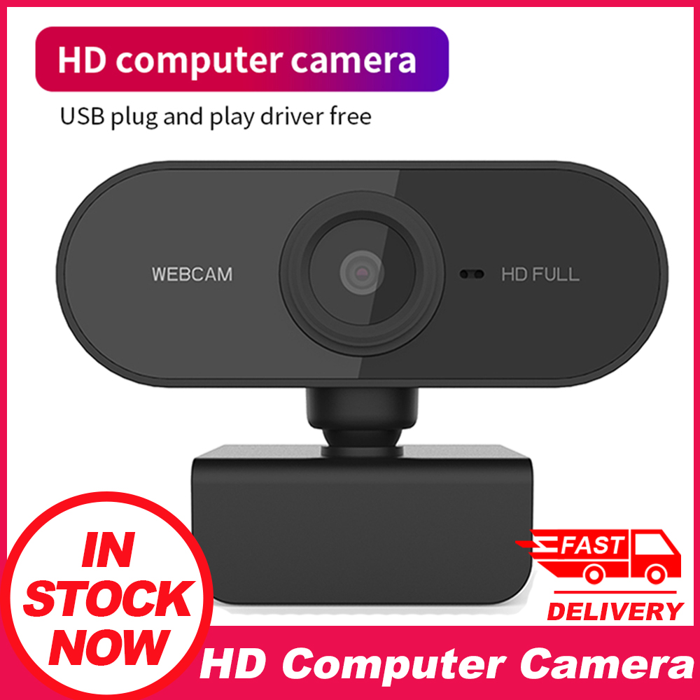 Black Conferencing Webcam with Microphone Admitrack 1080P HD Webcam Streaming Computer Web Camera with 110/° Wide View Angle USB Computer Camera for PC Laptop Desktop Video Calling Recording