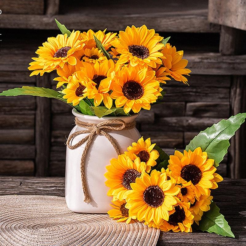 Sunflower Artificial Silk Flowers