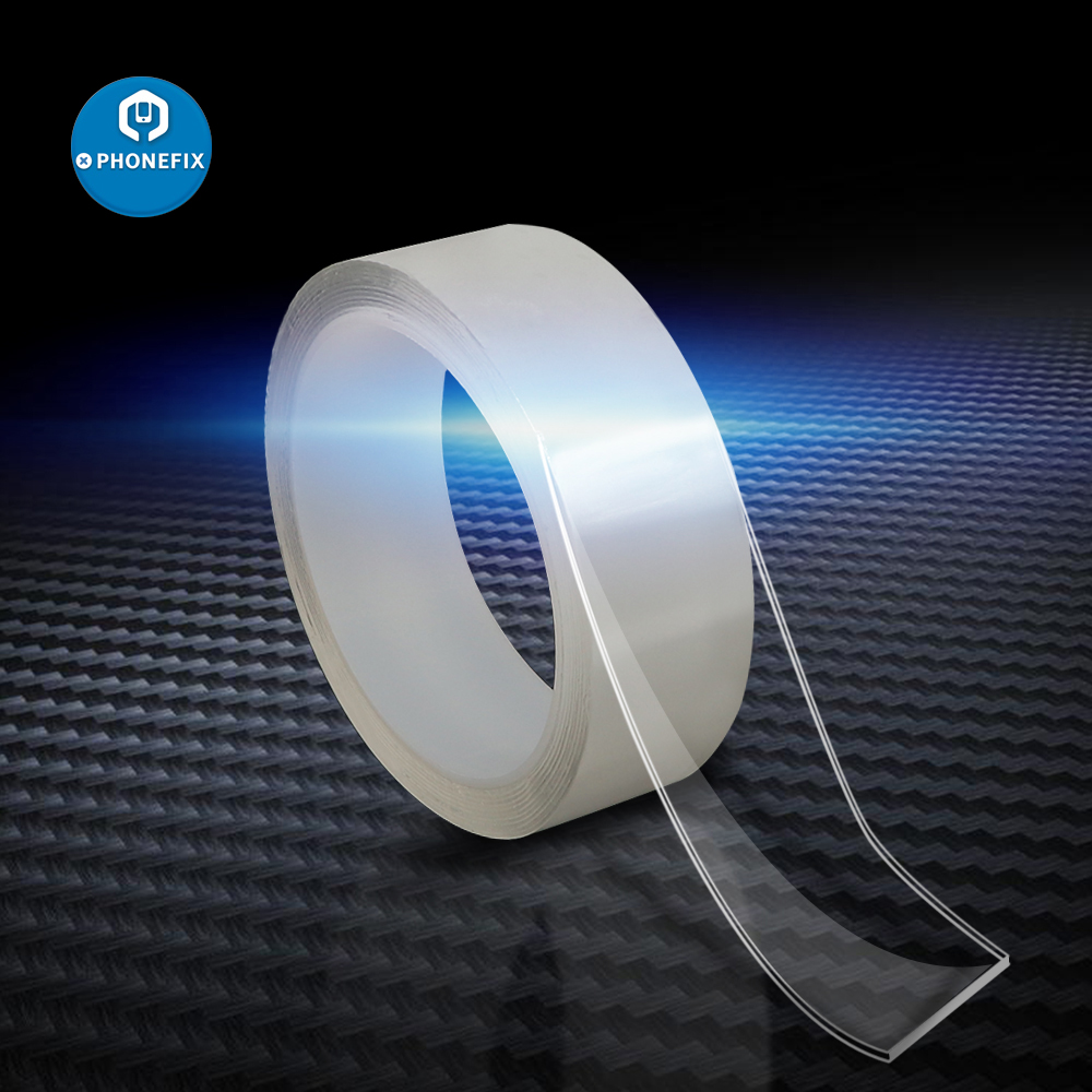 3M Double Sided Tape Waterproof Tape Nano Transparent Tape Adhesive Sticker Reusable Cleanable Hand Tools Easy To Remove