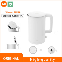 Xiaomi-hervidor de agua eléctrico MIJIA Mi 1A, 1.5L, tetera de ebullición rápida, de acero inoxidable, para el hogar