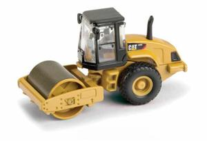 In Stock CAT Norscots 1/87 scale CS56 Smooth Drum Vibratory Soil Compactor Vehicle Toy(China)