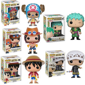 FUNKO Model-Toys Action-Figure Luffy Collection Vinyl Japanese Anime Tony Chopper No