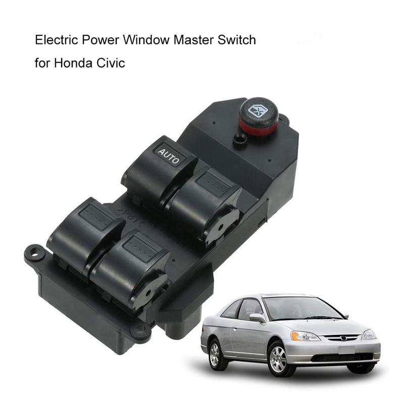 Master Power Window Control Switch for 2001-2005 Honda Civic NEW
