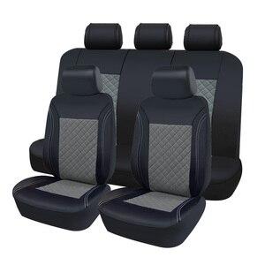 Image 5 - AUTOROWN PU Leather Auto Car Seat Covers Universal Automobile Covers For Toyota Lada Kia Hyundai Lexus Renault BMW Waterproof