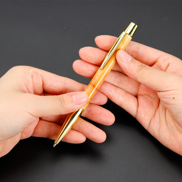 Metal ball-point pen new office stationery creative gyration ballpoint pen 1
