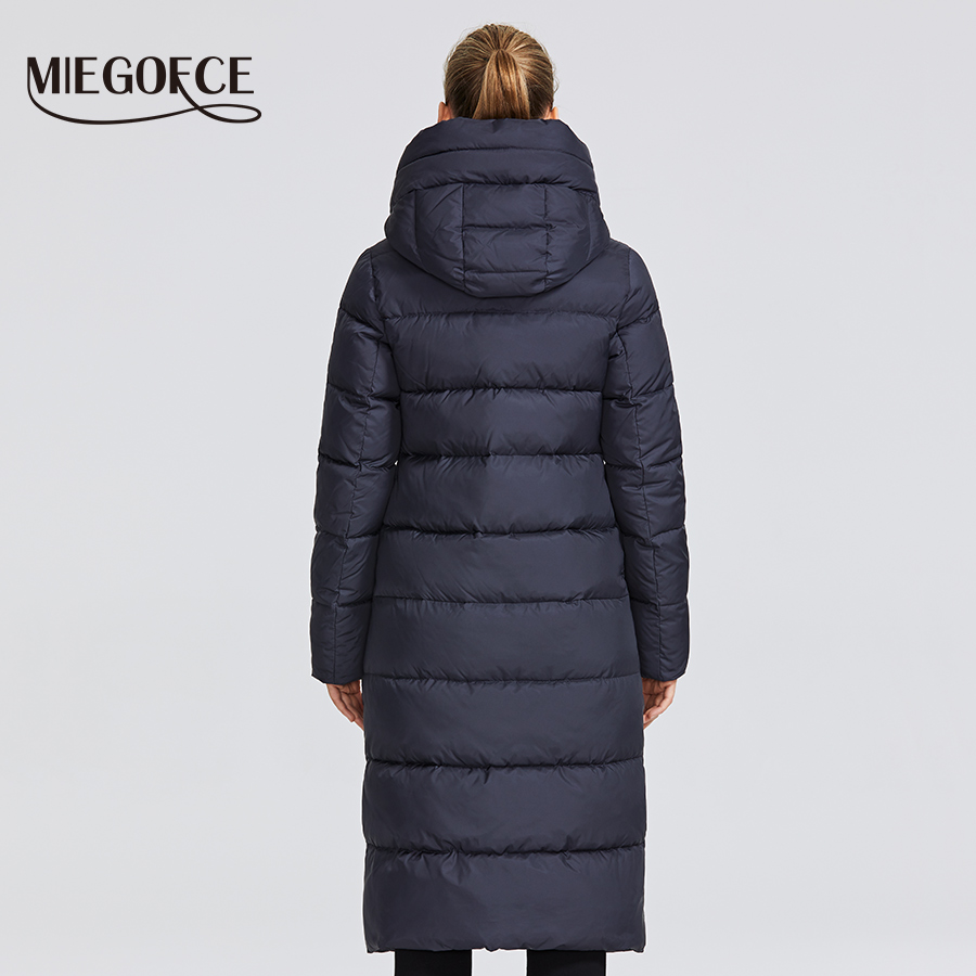 MIEGOFCE 2019 New Collection Women Coat With a Resistant Windproof Collar Women Parka Very Stylish Women