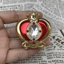 Милый косплей Сейлор Мун Усаги шкатулка Сердце Луна макияж зеркало коробка Косплей Реквизит