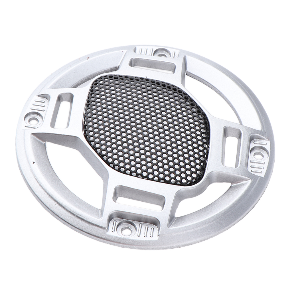 3'' Speaker Decorative Circle SubWoofer Grill Cover Guard Protector Mesh-in Car Stickers from Automobiles & Motorcycles