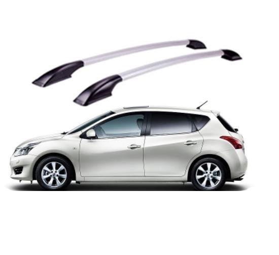 Menabo Tema Aluminium Roof Rack for Nissan Leaf 2010-2016 Hatchback 5-Door
