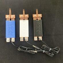 Pluma de soldadura por puntos de mano integrada, gatillo automático, Interruptor incorporado, soldador de operación con una sola mano, máquina de soldadura por puntos