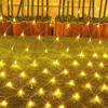 Thrisdar 2x2m 3x2m 6x4m LED Net Mesh Fairy String Light Christmas Tree-wrap Lights Outdoor Wedding Party Curtain Garland Light review