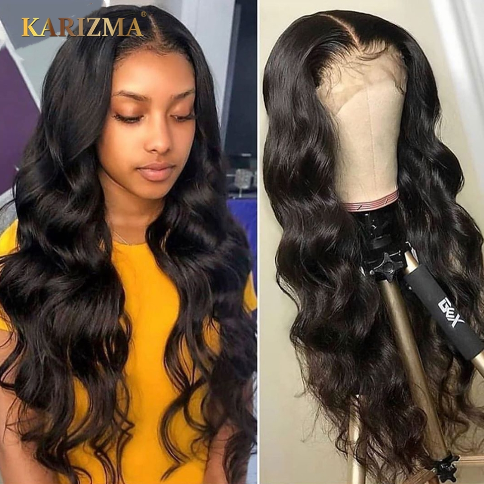 13X4 Lace Front Human Hair Wigs 150 Density Body Wave Lace Front Wigs Pre Plucked With Baby Hair Remy Brazilian Human Hair Wigs