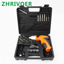 Electric screwdriver charging screwdriver 3.6V lithium battery mini electric screwdriver set charging electric hand drill