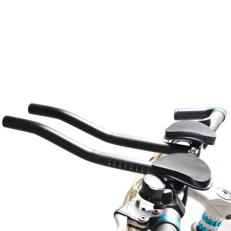Anti-skid Bicycle Rest Handlebar Adjustable Aluminum Alloy Bike Rest Handlebar For Bicycle Long Distance Riding