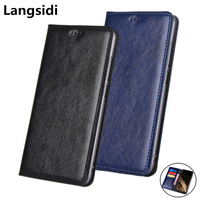 Business Genuine Leather Wallet Phone Bag Card Slot Holder For Xiaomi MIX 3/Xiaomi MIX 2/Xiaomi MIX 2S Phone Case Flip Cover