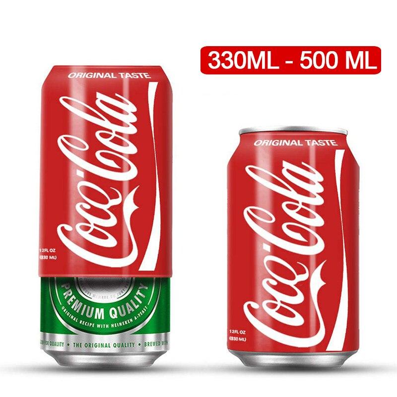 Gizlemek bir bira kapak şişe kol çantası Cola bardak kapağı şişe tutucu termal çanta kamp seyahat yürüyüş aksesuarı 330ml-500ml