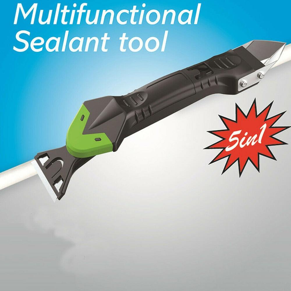 2Pcs//set Silicone Remover Caulk Finisher Sealant Smooth Glue Scraper Hand Tool