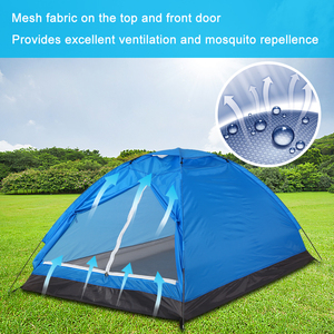 Image 4 - Lixada Outdoor Tent for Winter Fishing Camping Tent Travel for 2 Person Beach Tents for Camping Lightweight Camping Equipment
