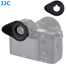 JJC Soft Eyecup Eyepiece Viewfinder Eyeshade for Nikon Z7 Z6 Z5 Z6II Z7II Camera Eye Cup Replaces DK 29 360 Degree Rotatable ABS