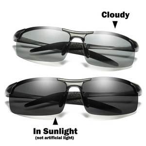 Image 2 - NALOAIN Photochromic משקפי שמש מקוטב עדשת UV400 אלומיניום מגנזיום מסגרת נהיגה משקפי לגברים דיג באיכות גבוהה