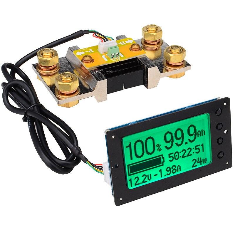TF03 100V 500A универсальный тестер емкости батареи индикатор напряжения тока панель кулонометр