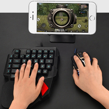 Gaming Keyboard Mobile-Game Mechanical-One-Handed for PUBG K108 Left-Hand