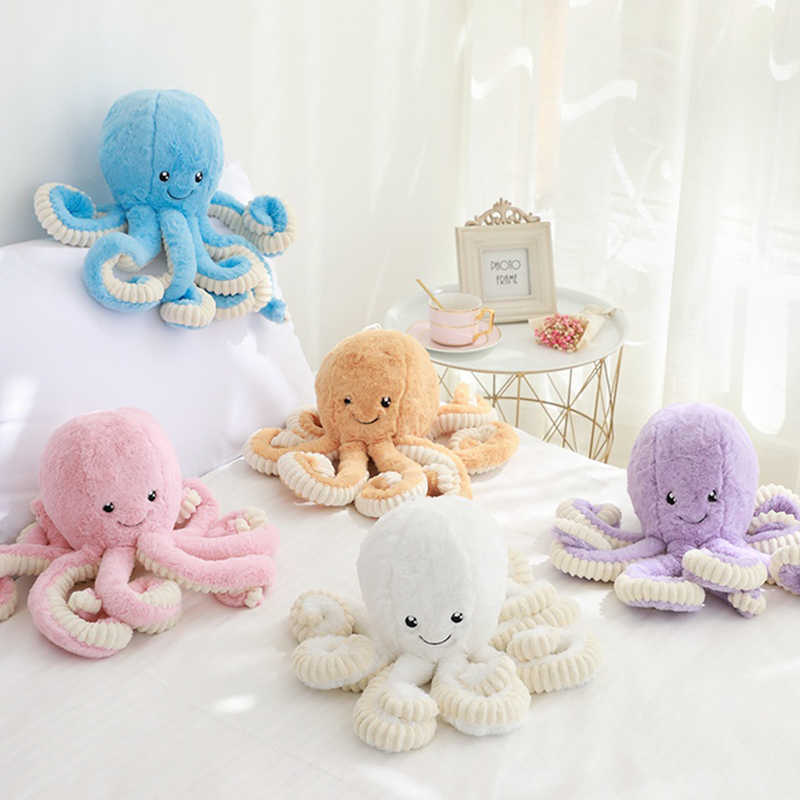 1PC Creative Cute Octopus Plush Toys Octopus Whale Dolls Stuffed Toy Plush Small Pendant Sea Animal Toy Children Baby Kids Gifts