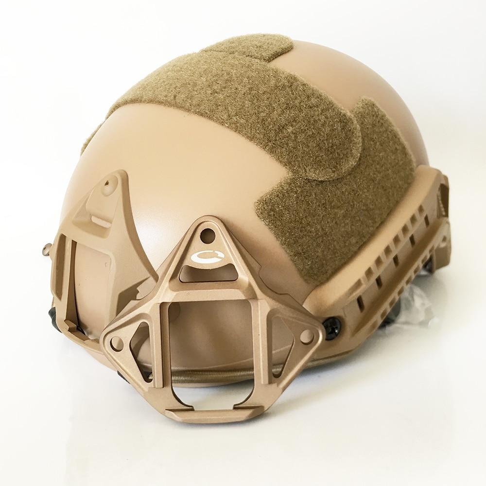 Military NVG Mount Adapter 3 Hole Skeleton NVG Shroud ARC Rail OPS-core FAST/MICH Helmet Frame Mount Aluminum