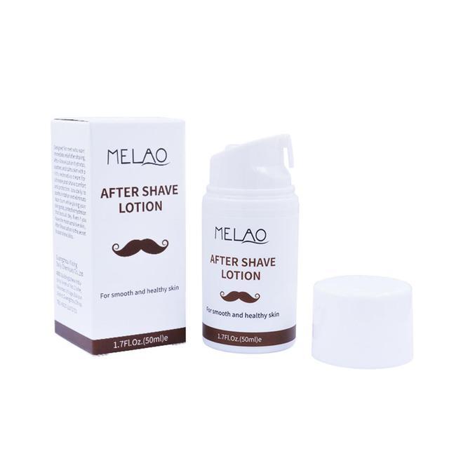 Lotion après rasage pour hommes crème hydratante légère pour le visage