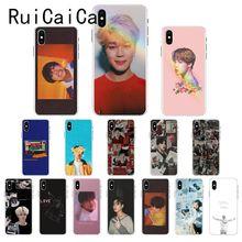 Ruicaica KPOP Jin suga j-espero que RM Jimin V JungKook cubierta de la caja del teléfono para iPhone X XS X MAX 6 6s 7 7plus 8 8Plus 5 5S SE XR 10