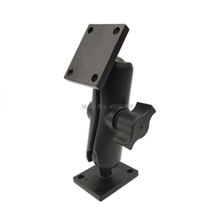 Image 2 - Aluminum Square Mount Base with Ball Head for Ram Mount for Garmin Zumo/TomTom Dropship