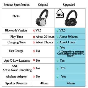 Image 5 - Mixcder E10 yükseltilmiş aptX düşük gecikme bluetooth kulaklık kablosuz bluetooth kulaklıklar Metal bas kulakiçi cep telefonu oyunları