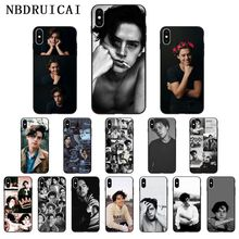 NBDRUICAI American TV Riverdale Series Cole Sprouse Phone Case for iPhone 11 pro XS MAX 8 7 6 6S Plus X 5 5S SE XR case nbdruicai american tv series shadowhunters black soft shell phone case for iphone 11 pro xs max 8 7 6 6s plus x 5s se xr case