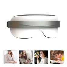 Eye-Massager Anti-Aging Heat-Compression Strain-Dark-Circles Bluetooth with Music Rechargeable