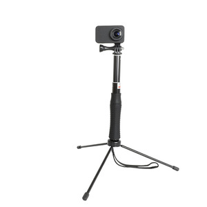 Image 5 - Extendable Waterproof Selfie Stick Monopod Hand Grip Tripod Holder for GoPro Hero 8 7 6 5 SJCAM Yi 4K Action Camera Accessories