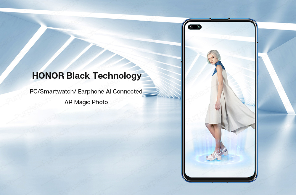 Original Honor V30 Kirin990 7nm Octa core 5G Smartphone 40w Super charge (12)