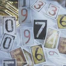 80 листов Ретро прямоугольник 0 9 планировщик цифр ежедневный