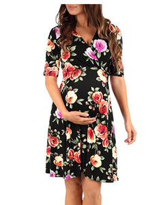 Image 2 - 2020 Sexy Maternity Dresses For photo Shoot Pregnant Dress For Pregnant Women Summer Plus Size Dress Pregnancy Clothes Dress