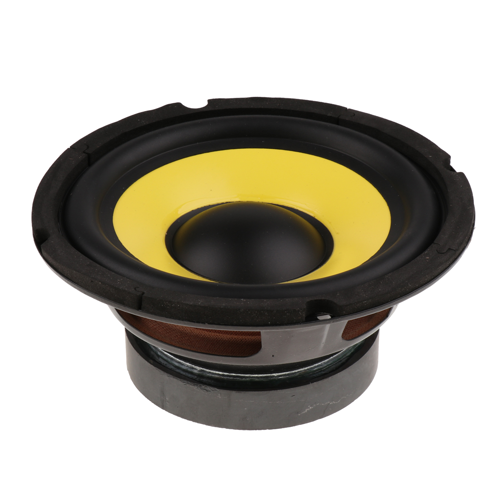 6.5'' <font><b>50W</b></font> Car Audio Stereo Horn Subwoofer Bass HIFI <font><b>Speaker</b></font> 4 Ohm Magnet 100 For Auto Truck RV Camper Boat Woofer Loudspeaker image
