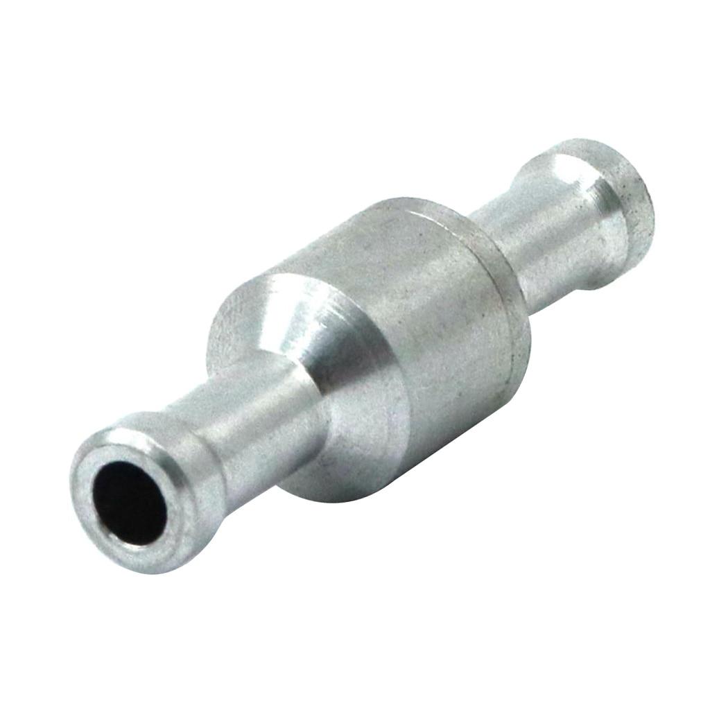 "8mm 5//16/"" Aluminium One Way Non-Return Fuel Line Check Valve Petrol Diesel Water"