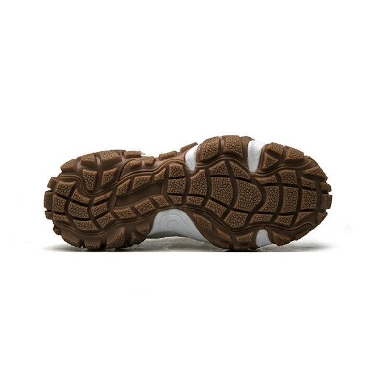 Harajuku Dos Homens Novos Running Shoes Lace Up Antiderrapante Apartamentos Plataforma Sapatilhas Sapatos Tênis de Corrida Ao Ar Livre Sapatos de Desporto Gym Workout - 5