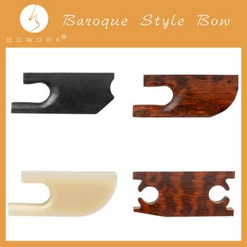 BOWORK Snakewood heban skrzypce łuk żaba styl barokowy skrzypce łuk części 4 4 skrzypce skrzypce wymiana tanie i dobre opinie NAOMI CN (pochodzenie) Skrzypce użytkowania BP0908-F060 BP0908-F061 BP0908-F062 BP0908-F063