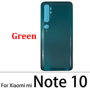 Image 4 - 10 Pcs/Lot Back Glass Battery Cover Rear Door Housing Case For Xiaomi Mi Note 10 / Note 10 / Mi CC9 Pro With Glue Adhesive