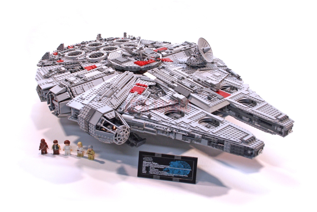 Millennium Falcon Lepin 8445pcs Compatible 75192 Star wars Series Ultimate Collectors Model Building Bricks Toys 48