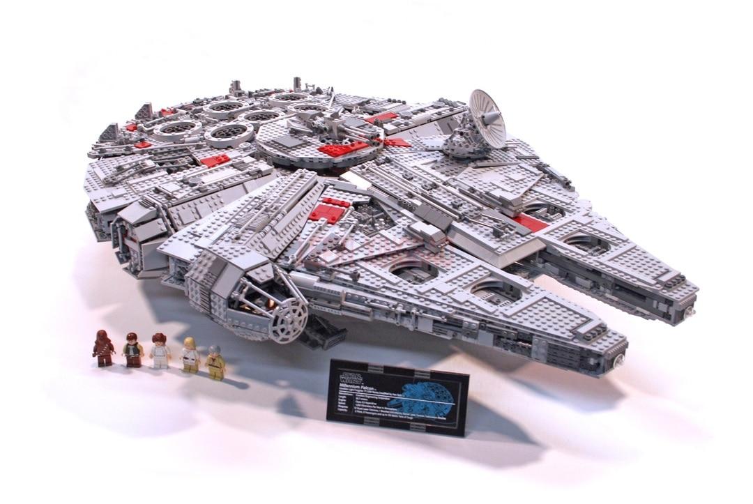 Millennium Falcon Lepin8445pcs Compatible 75192 Star wars Series Ultimate Collectors Model Building Bricks Toys 24